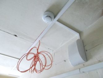 Правила прокладки кабелей пожарной сигнализации