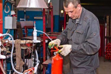 Утилизация огнетушителей порошковых
