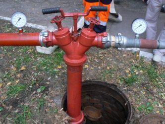 Проверка пожарных гидрантов на водоотдачу