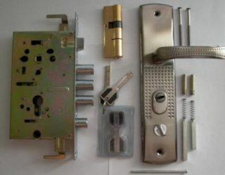Устройство китайского замка металлической двери