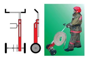 Способы скатки пожарных рукавов