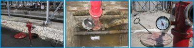 Испытание сетей наружного противопожарного водопровода