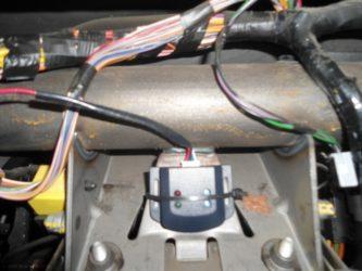 Где устанавливается датчик удара сигнализации?