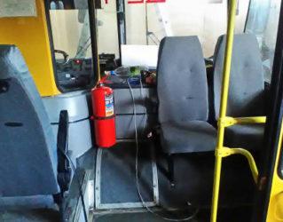 Огнетушитель в автобусе требования