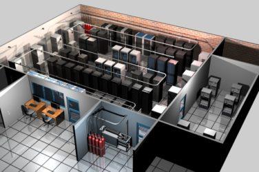Требования к помещению серверной комнаты